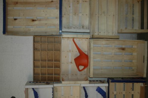 'Top Produce' - packing crated at unit nine.